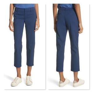 Joie Golda Ankle Pants Blue Cropped Trouser 8